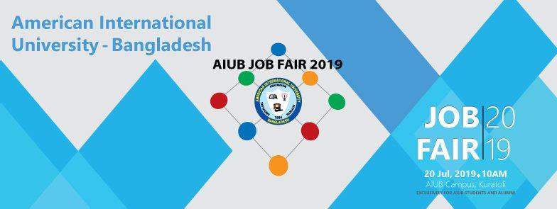 AIUB Job Fair 2019