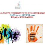 INTERNATIONAL YOUTH CONFERENCE TO END GENDER BASED VIOLENCE